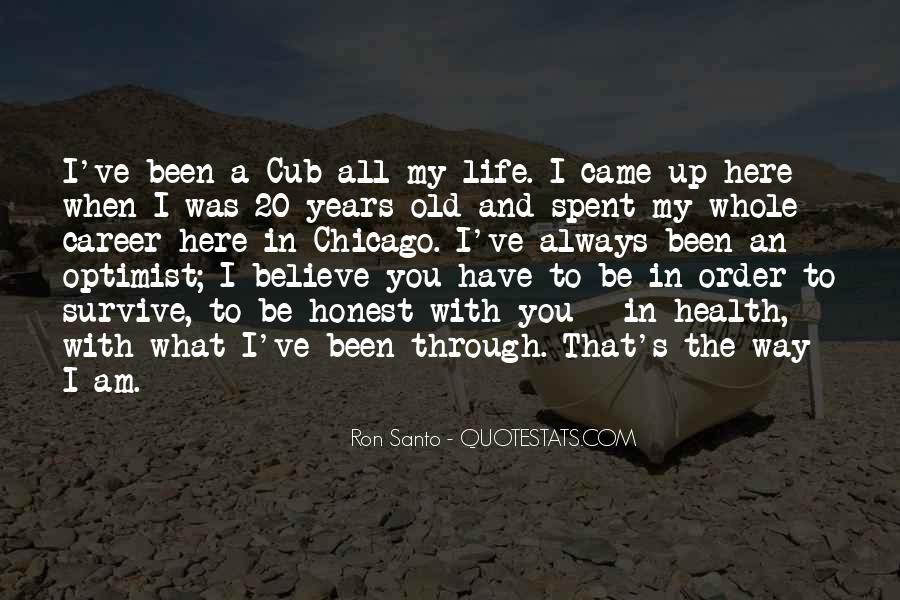 Mr Cub Quotes #183124