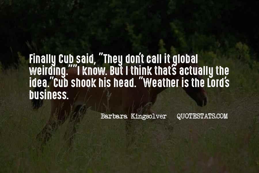 Mr Cub Quotes #200618
