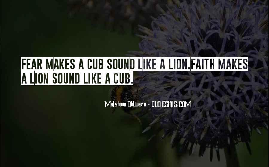 Mr Cub Quotes #220970