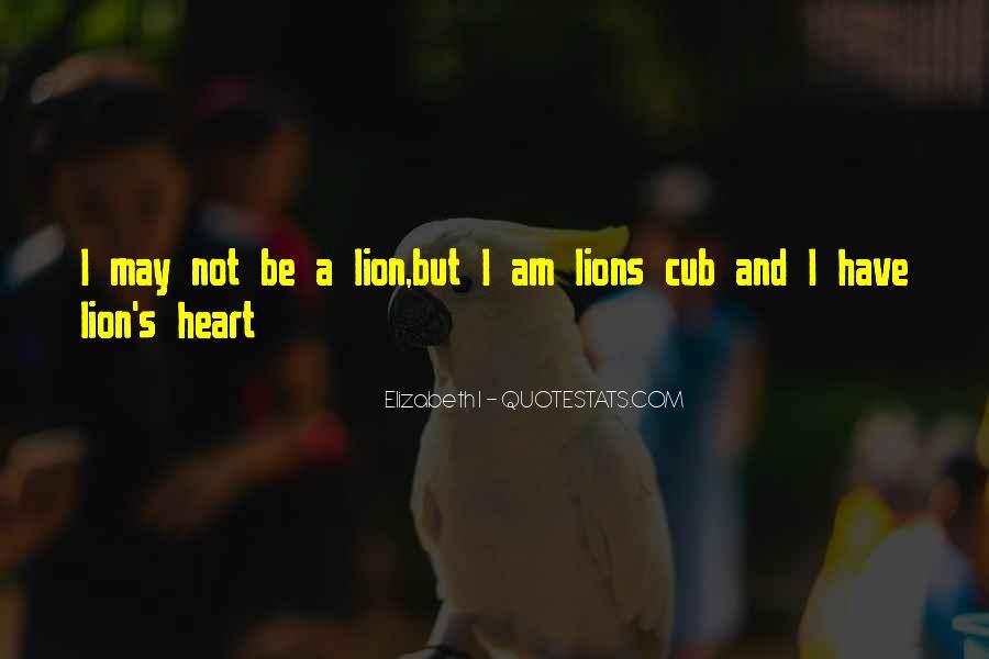Mr Cub Quotes #81297