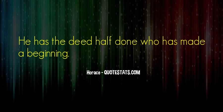 Mr Deed Quotes #5300
