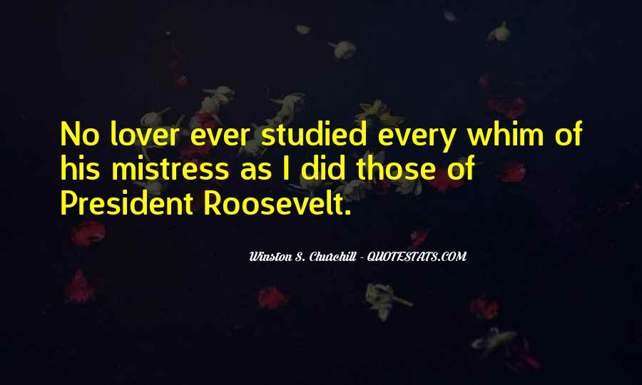 Quotes About Churchill Fdr #805186