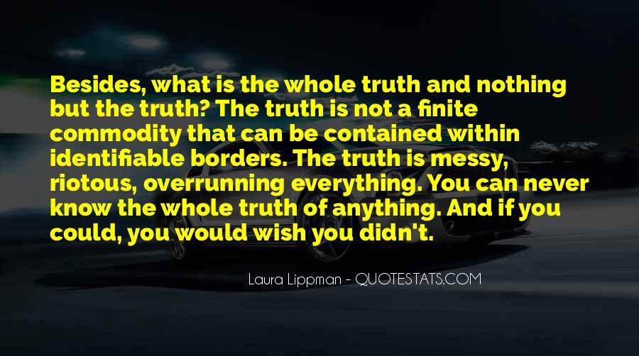 Mr Lippman Quotes #125208