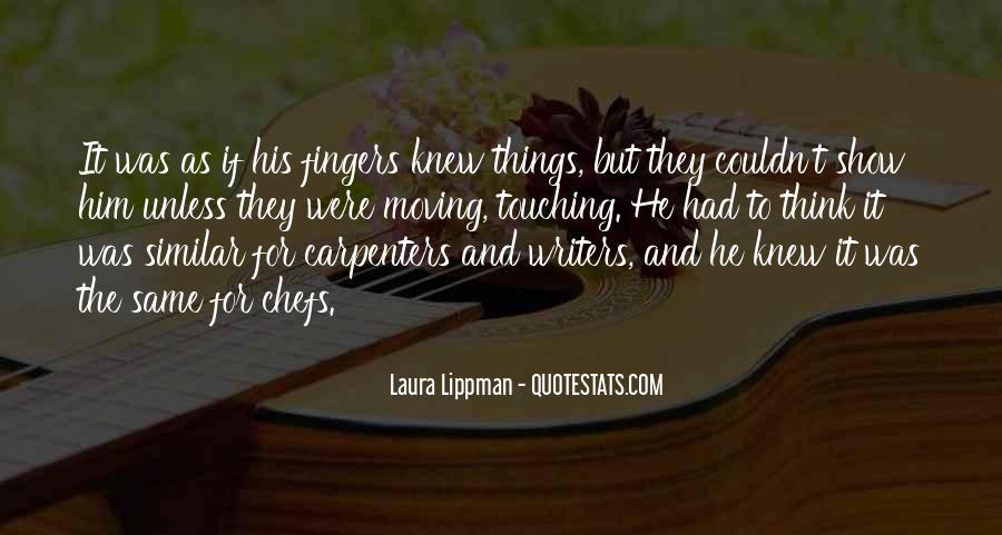 Mr Lippman Quotes #307073