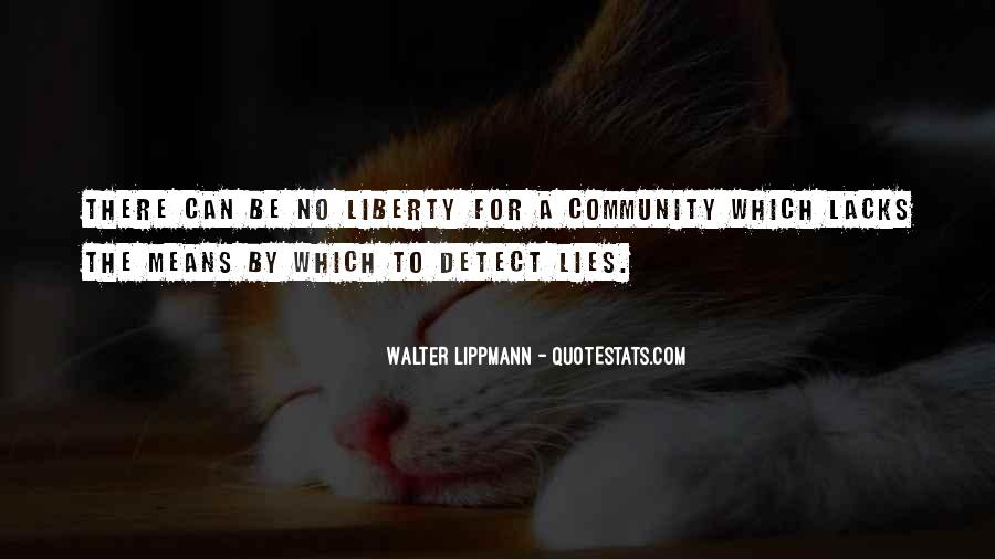 Mr Lippman Quotes #31705