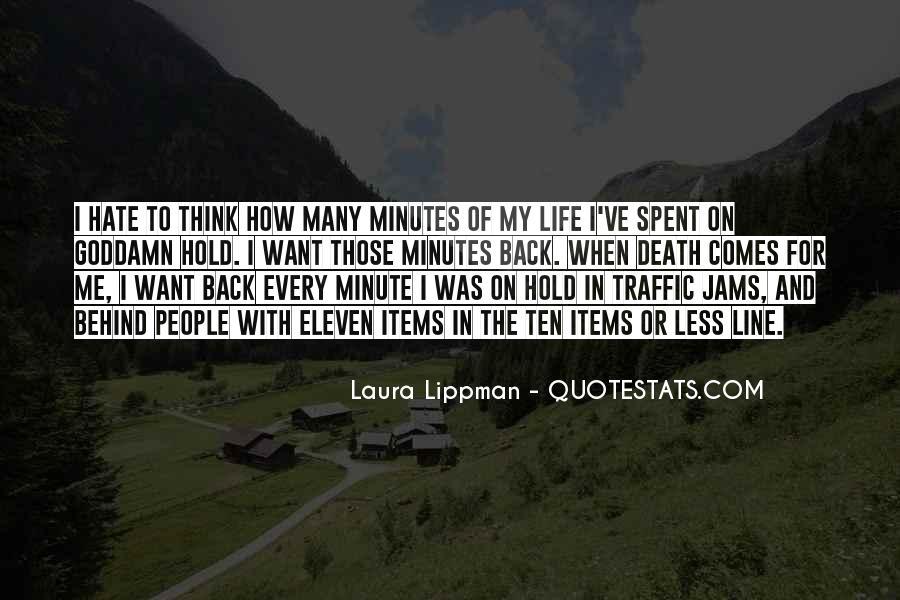 Mr Lippman Quotes #93391