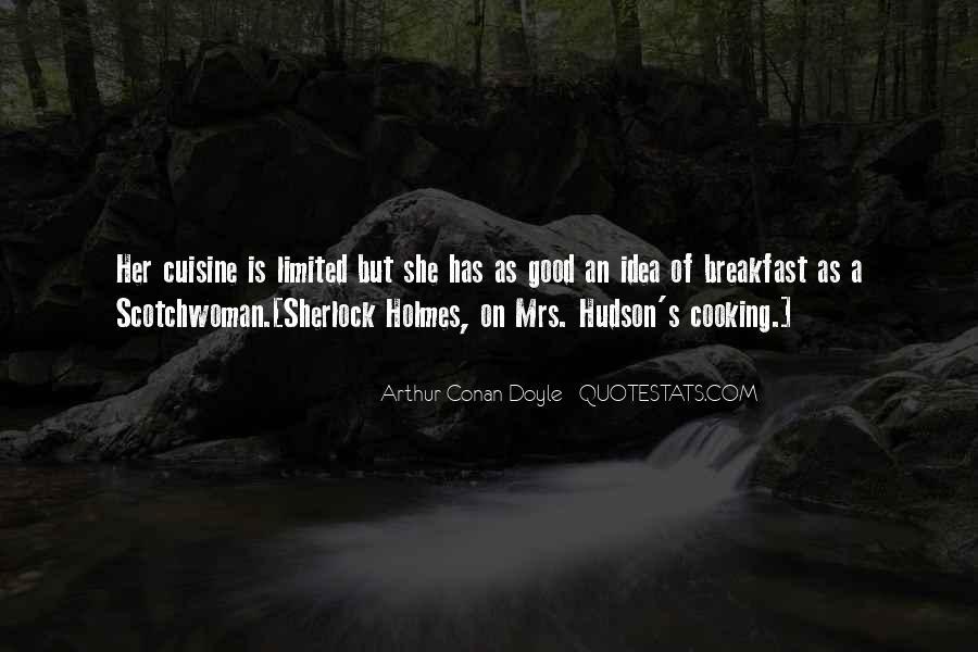 Mrs Hudson Quotes #1110497