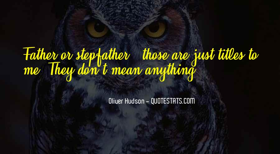 Mrs Hudson Quotes #2892