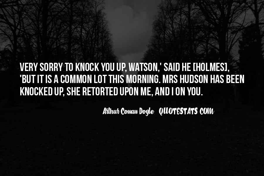 Mrs Hudson Quotes #734373