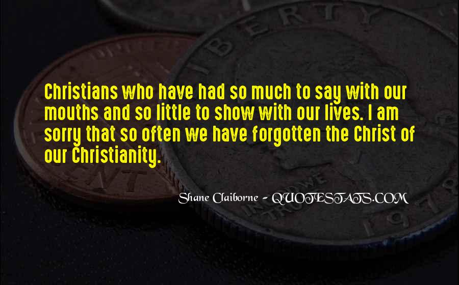 Quotes About Christians #40439