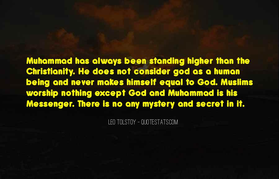Muhammad The Messenger Quotes #1414950