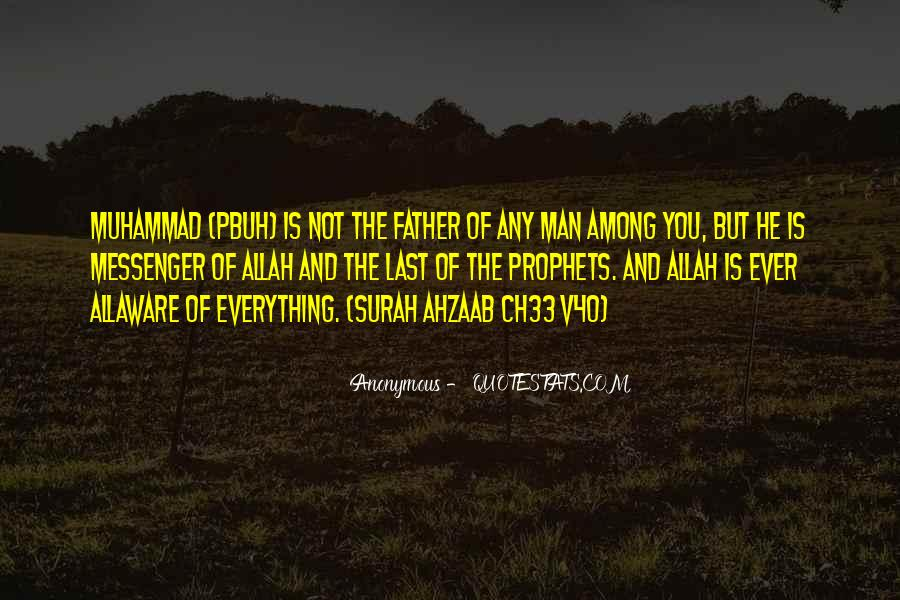 Muhammad The Messenger Quotes #1511106