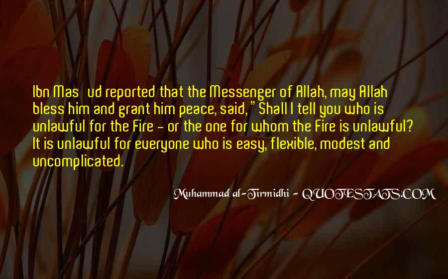 Muhammad The Messenger Quotes #1571464