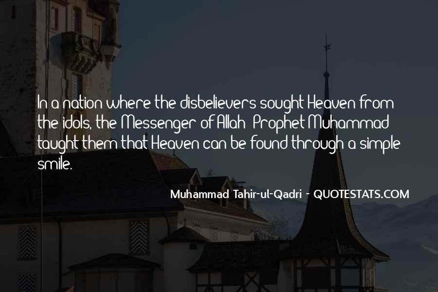 Muhammad The Messenger Quotes #1748317