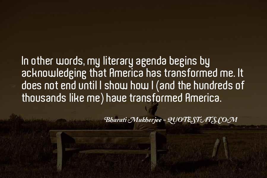 Mukherjee Quotes #308809
