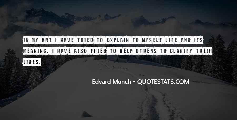 Munch Quotes #1711585