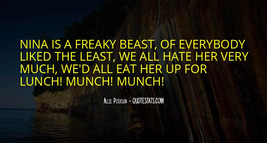 Munch Quotes #528404