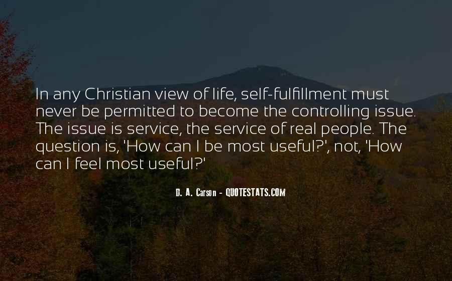 Quotes About Christian Fulfillment #1481826
