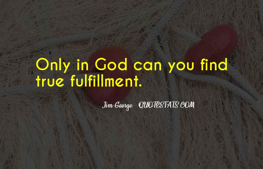 Quotes About Christian Fulfillment #1702301