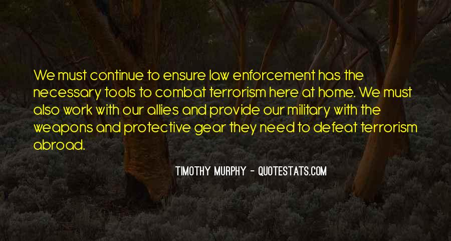 Murphy's Military Law Quotes #473243