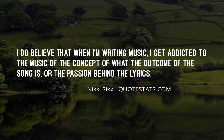 Music Addicted Quotes #1835094