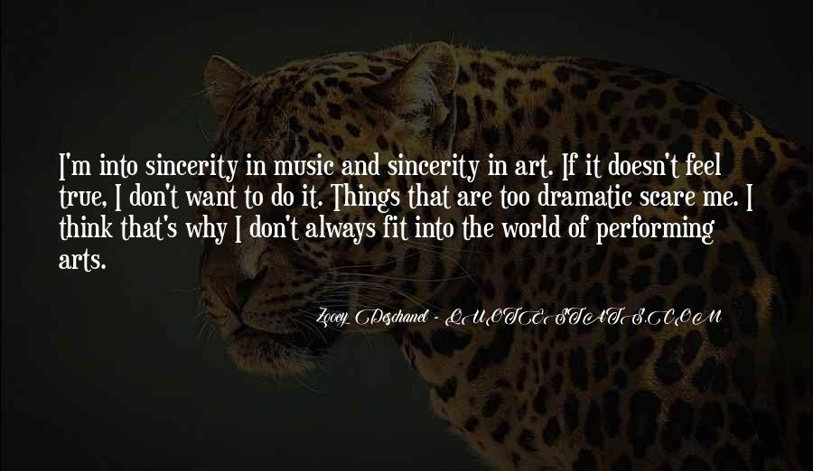 Music And Arts Quotes #352169