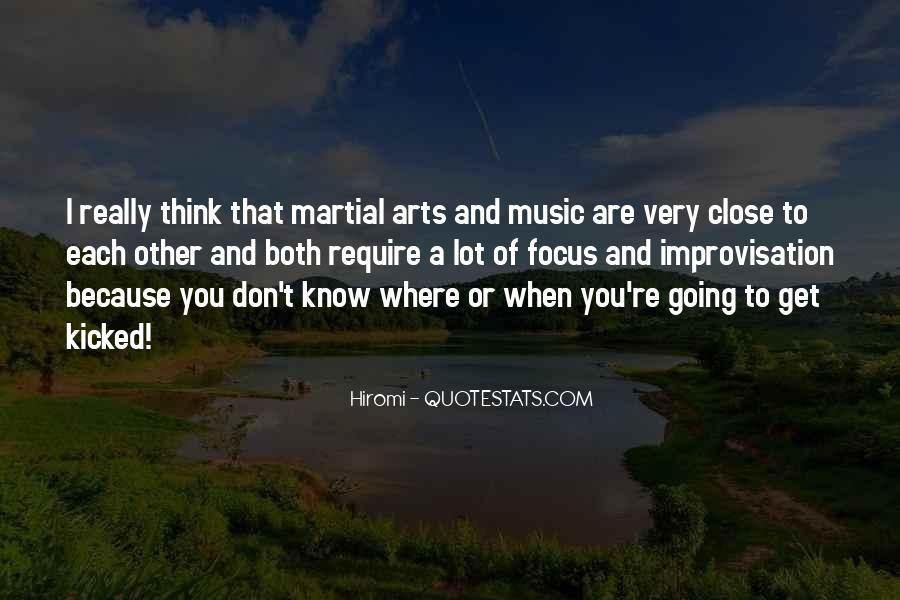 Music And Arts Quotes #386751