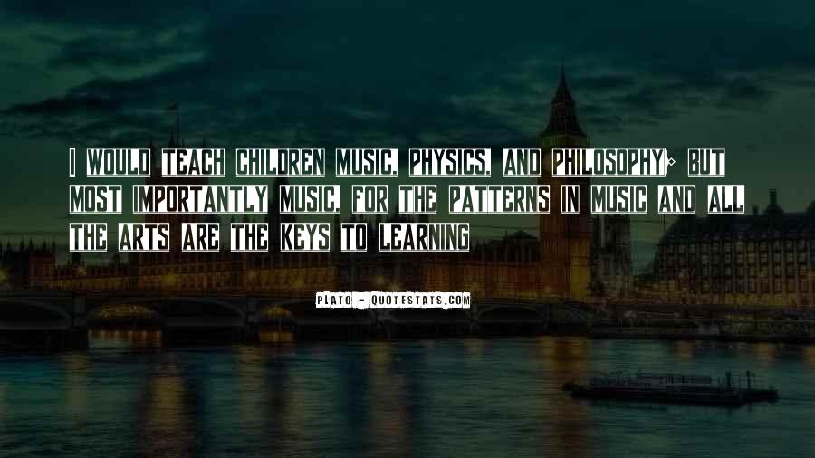 Music And Arts Quotes #730493