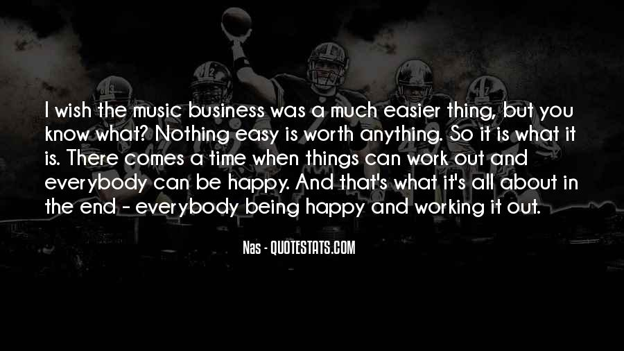 Music And Business Quotes #113069