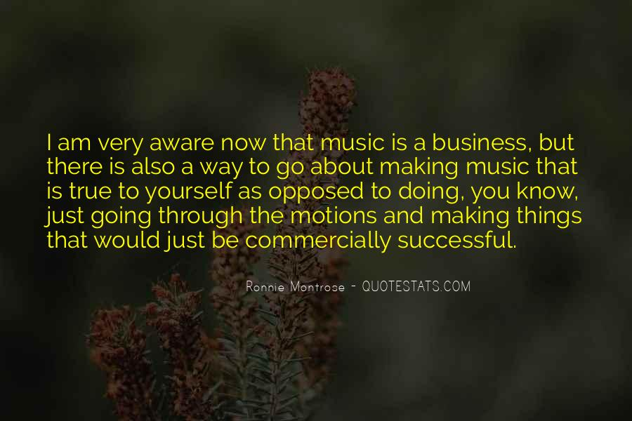 Music And Business Quotes #121378