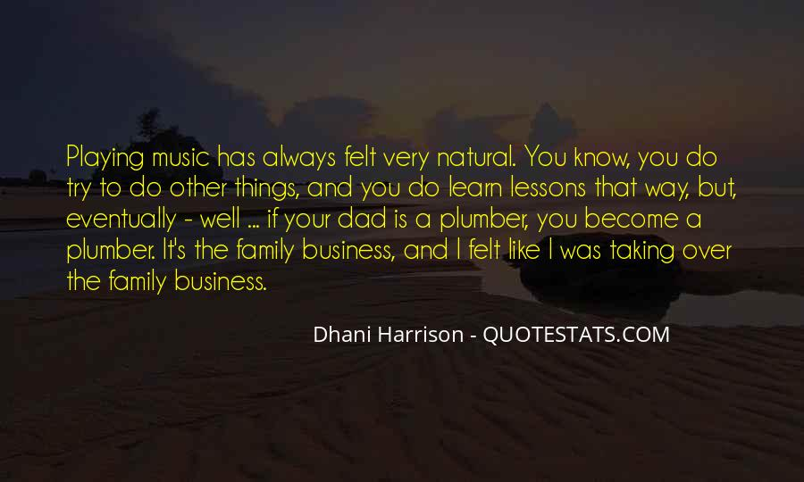 Music And Business Quotes #133470