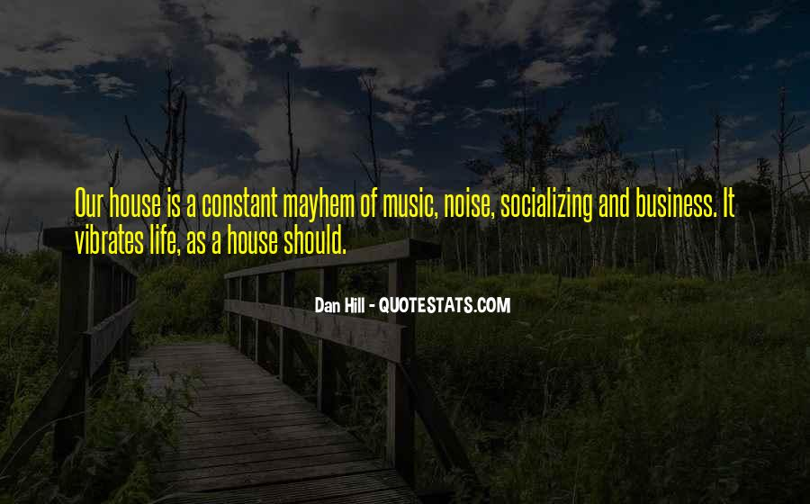 Music And Business Quotes #143554