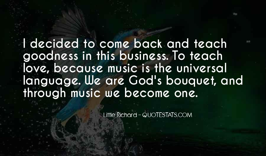 Music And Business Quotes #177943
