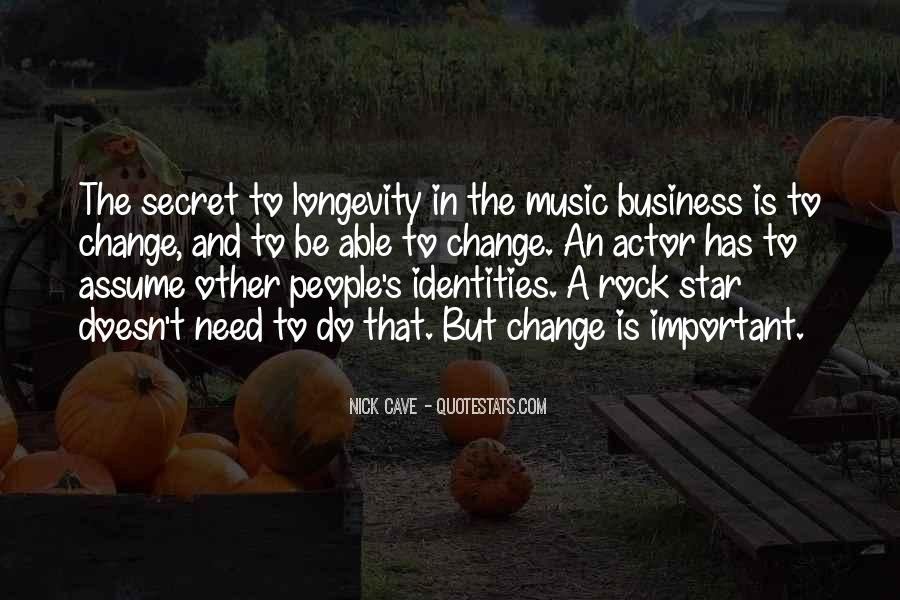 Music And Business Quotes #21475