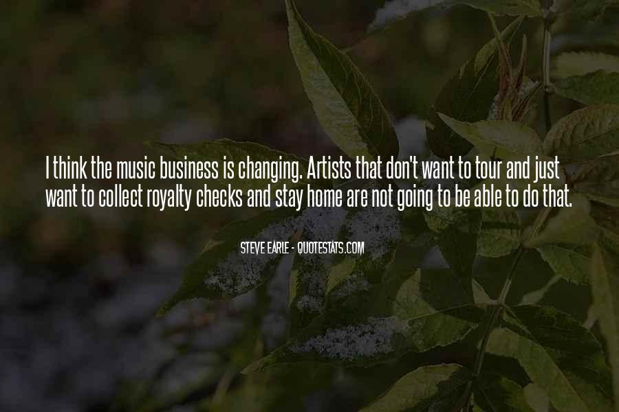 Music And Business Quotes #229451