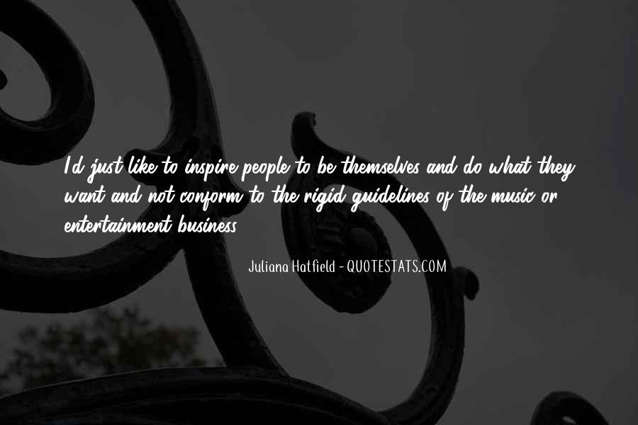 Music And Business Quotes #239249