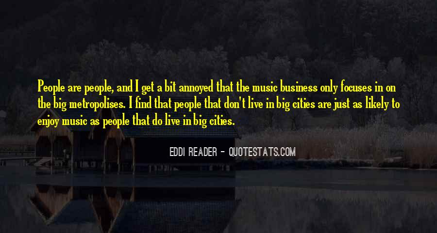 Music And Business Quotes #342570