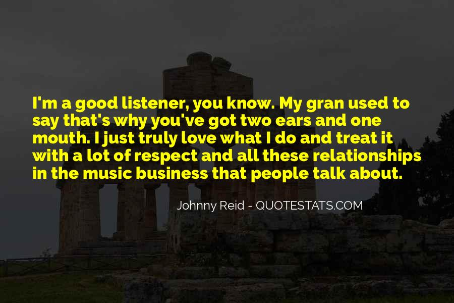 Music And Business Quotes #409050
