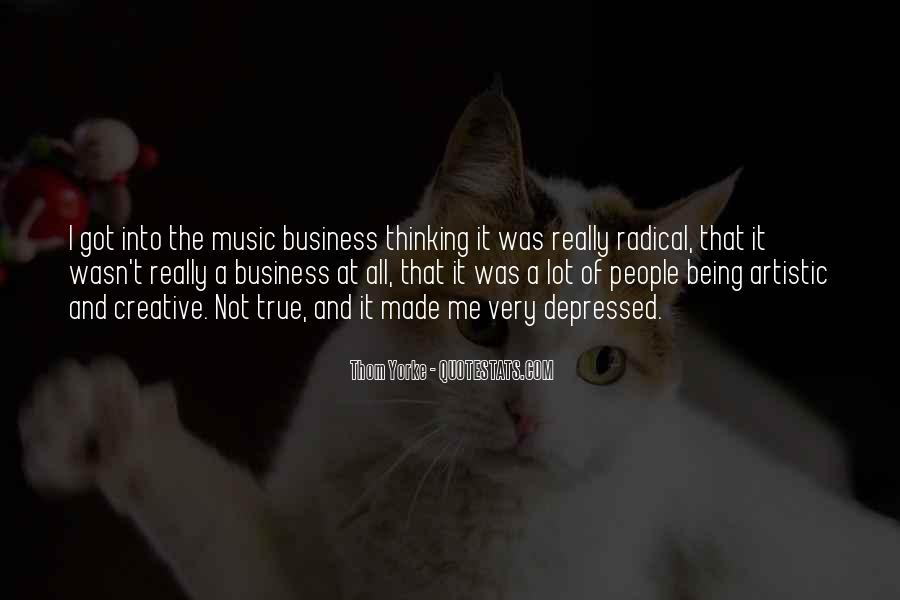 Music And Business Quotes #476365