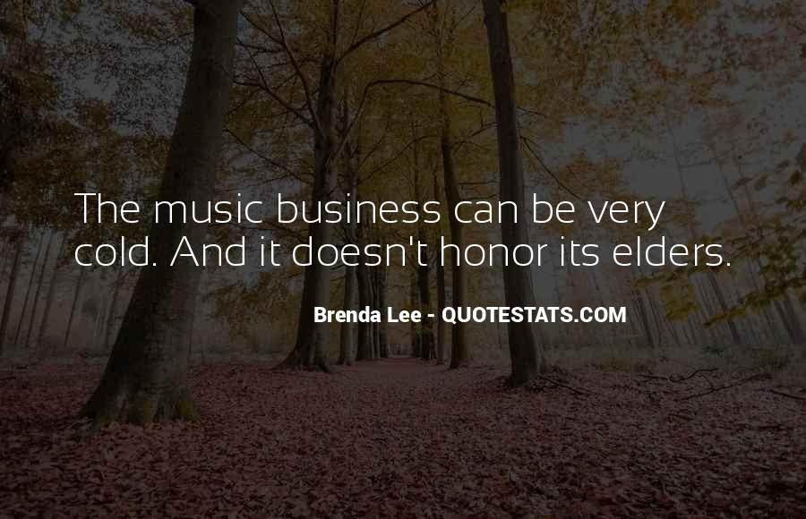 Music And Business Quotes #494097