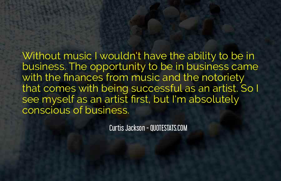 Music And Business Quotes #51860