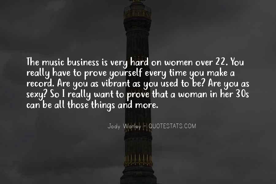 Music And Business Quotes #622205