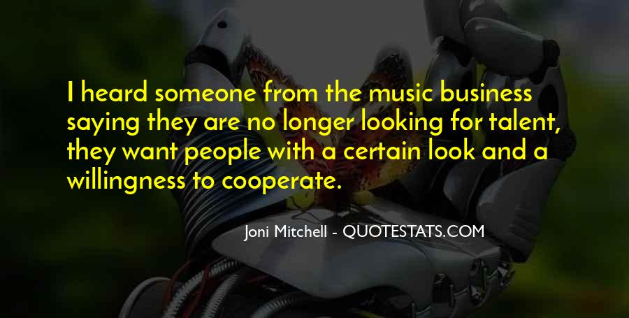 Music And Business Quotes #636818