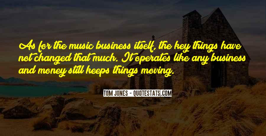 Music And Business Quotes #677504