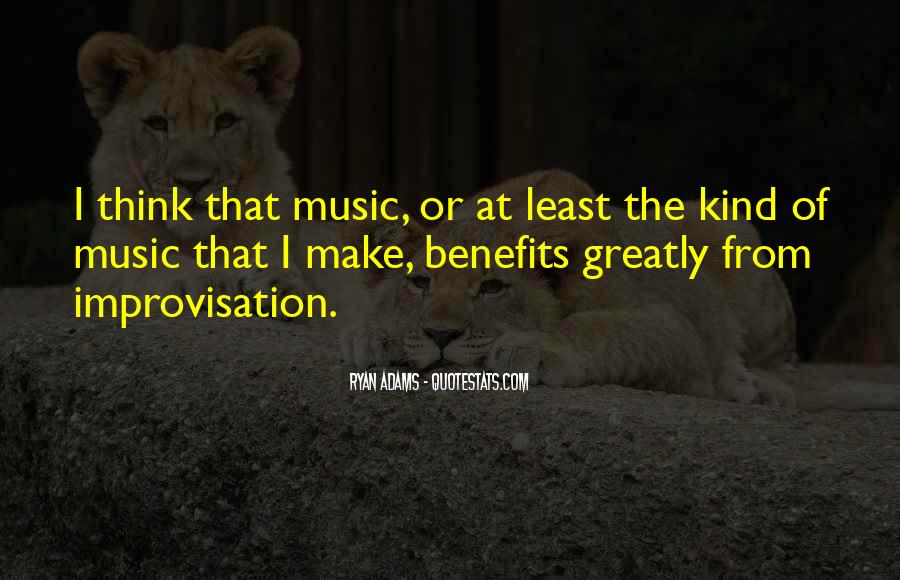 Music Benefits Quotes #199058