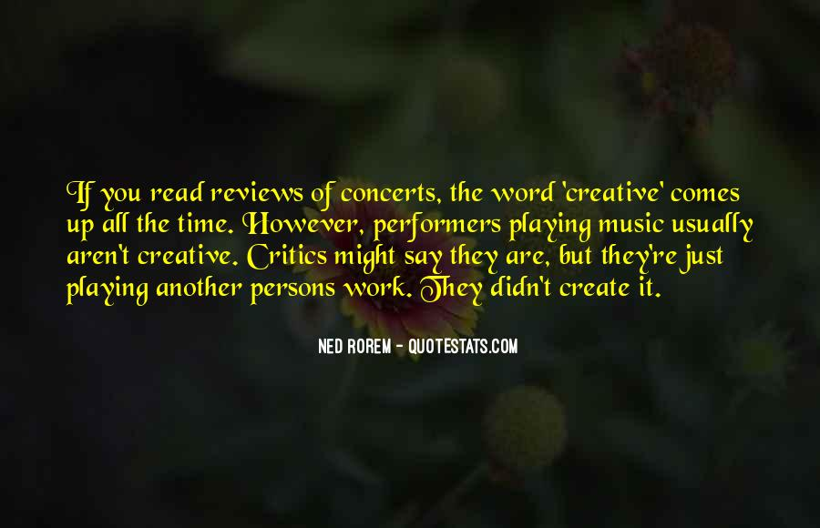 Music Concerts Quotes #1406097