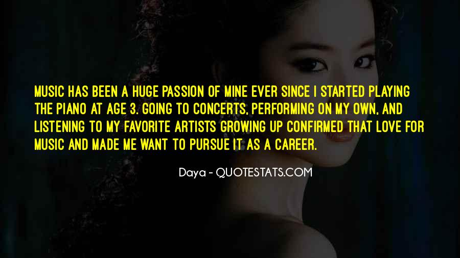 Music Concerts Quotes #292583