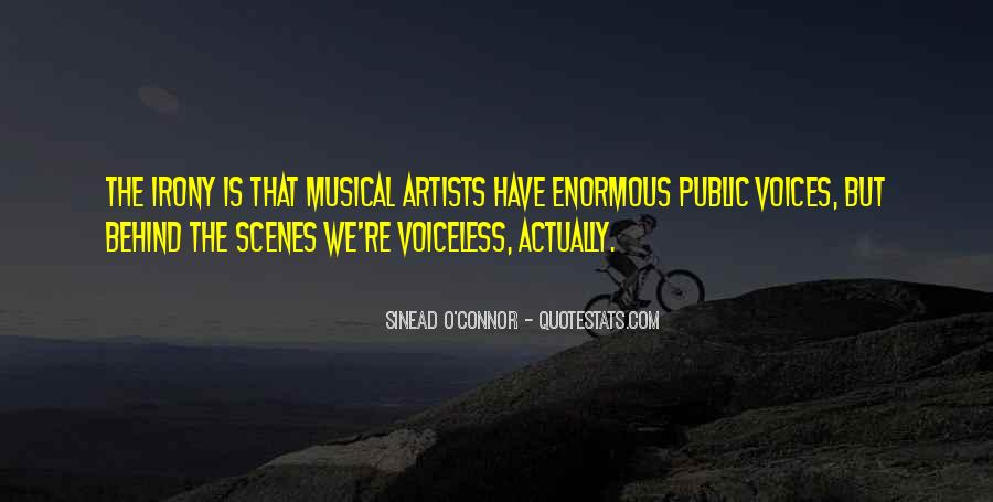 Musical Artist Quotes #218743