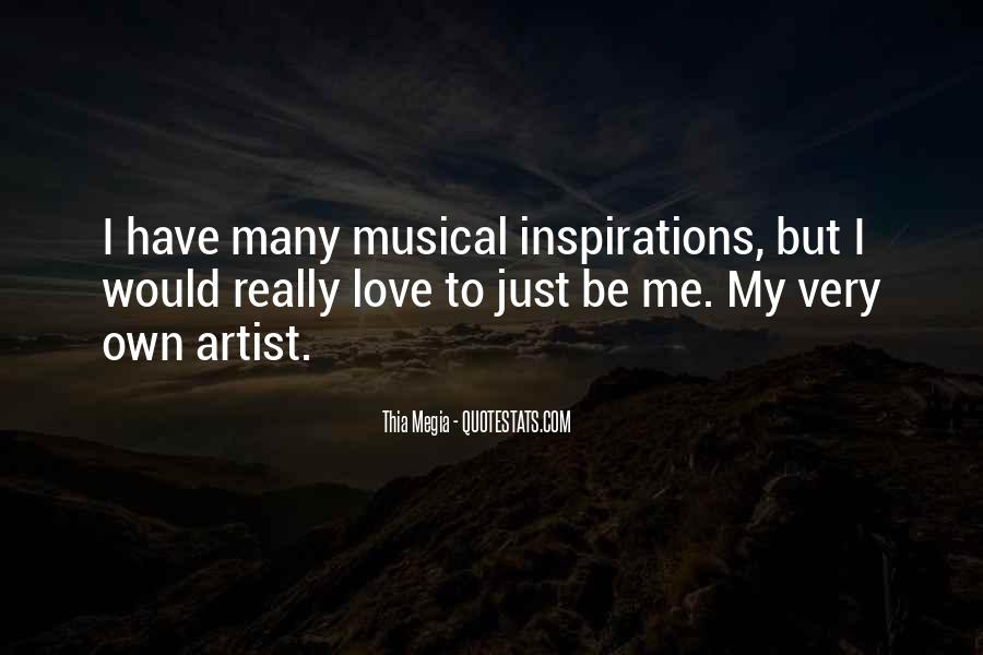 Musical Artist Quotes #276138