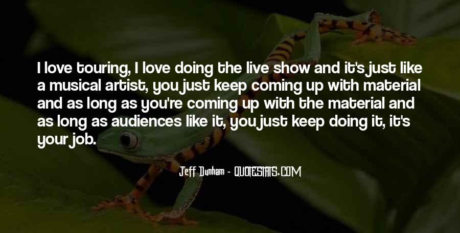Musical Artist Quotes #33346